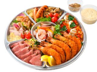 夏の洋食セット