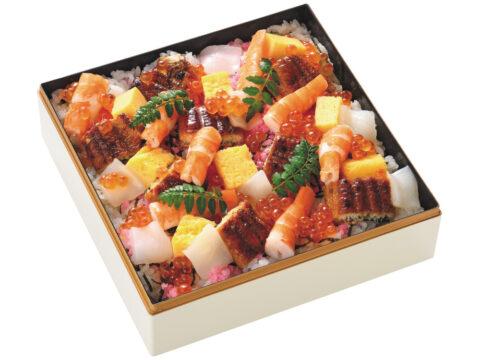夏のちらし寿司
